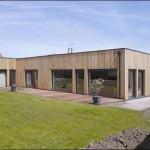 maison en bois plain pied