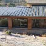 photo de maison toiture bac acier