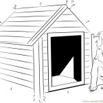 image maison à colorier