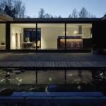 image maison bois contemporaine