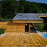 maison architecte toit zinc