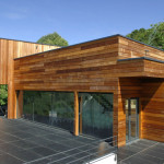 maison en bois contemporaine