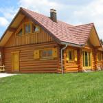 maison en bois image