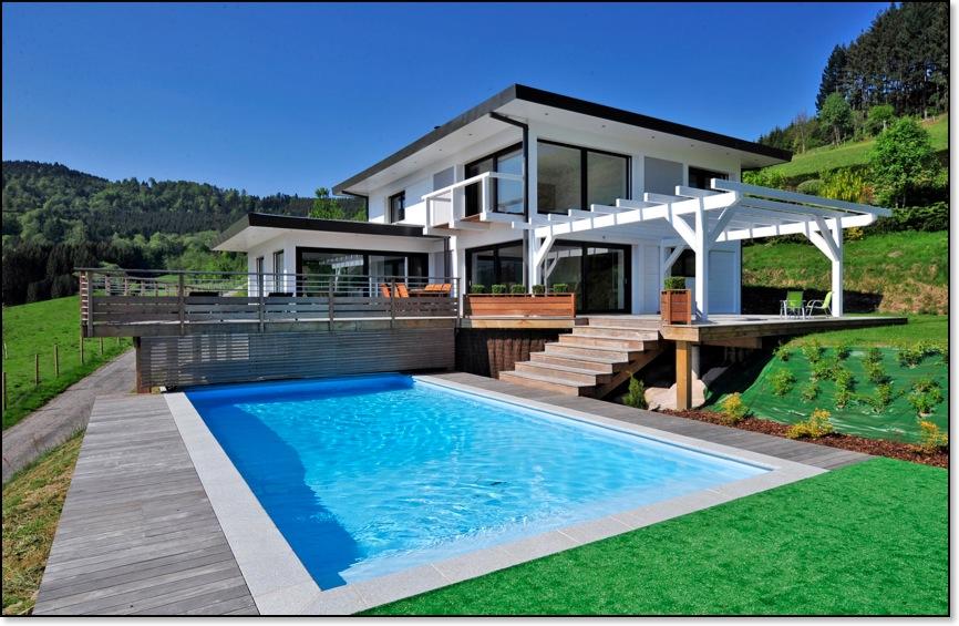 exemple maison moderne image