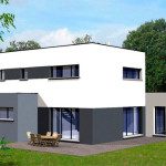 maison contemporaine plan