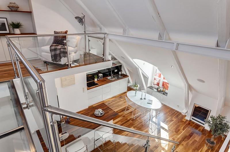 exemple maison moderne avec mezzanine