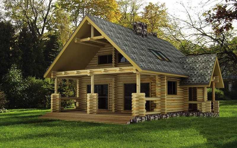 chalet bois ecologique