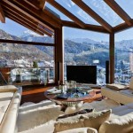 chalet bois luxe