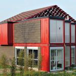 maison architecte container