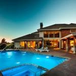 maison architecte moderne piscine