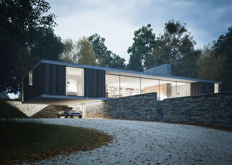 maison architecte plain pied