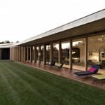 maison contemporaine avec toit