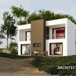 maison contemporaine cubique
