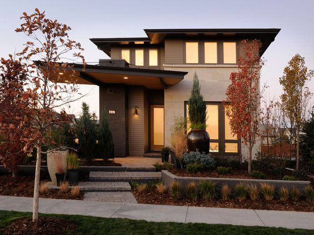 maison moderne carré