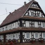 photo de maison à colombage
