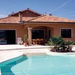 photo de maison piscine